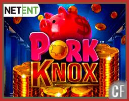 Présentation de la machine à sous Pork knox de NetEnt