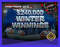 Promotion $240 000 Winter Winnings de Intertops Casino