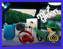 Promotion Gadget Spinaway de Mr Green en cours ce mois