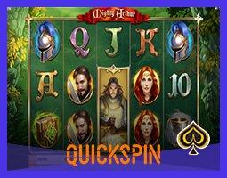Quickspin lancera en novembre la machine à sous Mighty Arthur