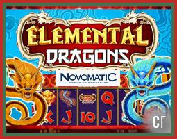 Sortie de la machine à sous Elemental Dragons
