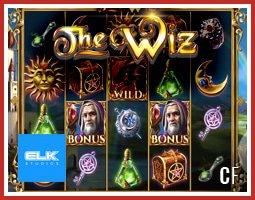 Sortie du nouveau jeu de casino en ligne The Wiz de Elk Studios