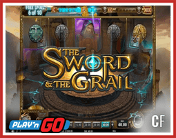 The Sword and The Grail : Nouvelle machine à sous découvrir