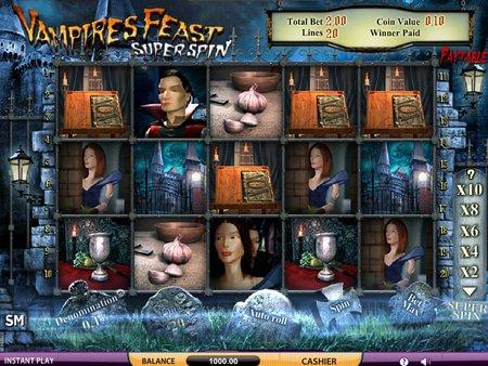 Vampires Feast Super Spin